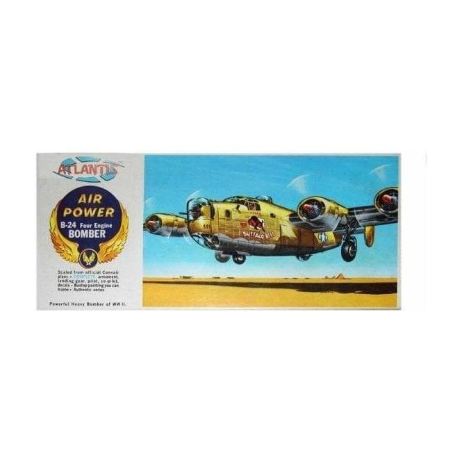 Atlantis Models 1:92 B-24J Liberator Bomber - Buffalo Bill  Aircraft Model Kit