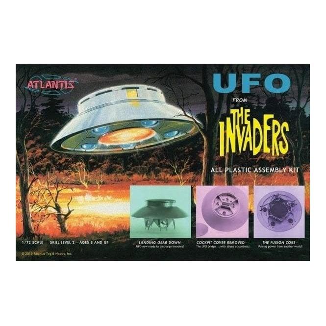 Atlantis Models 1:72 The Invaders UFO Model Kit