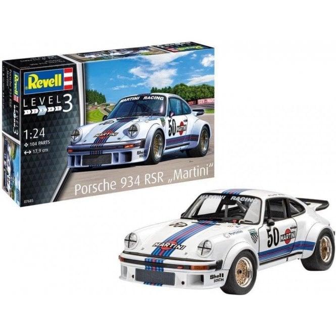 Revell 1:24 Porsche 934 RSR ' Martini Racing ' Model Kit