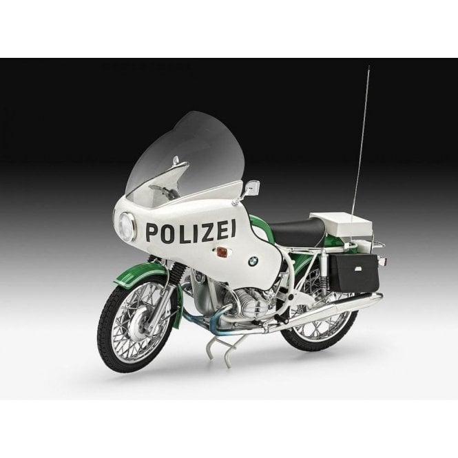 Revell 1:8 BMW R75/5 Polizei Motorbike Model Kit