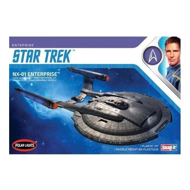 Polar Lights 1:1000 Star Trek NX-01 Enterprise (snap) Model Kit