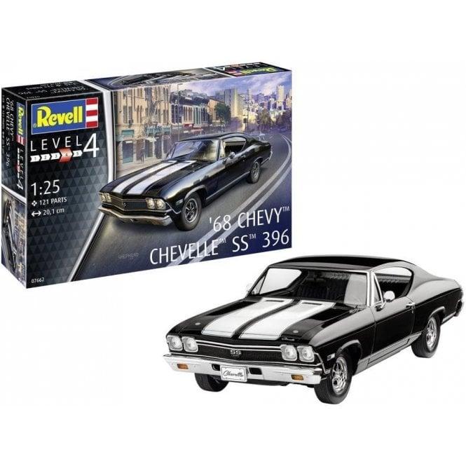 Revell 1:25 1968 Chevy Chavelle SS 396 Car Model Kit
