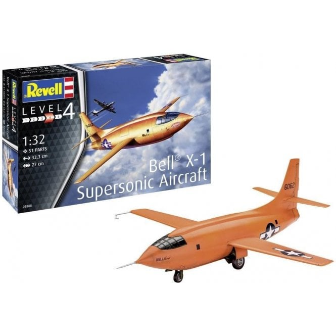 Revell 1:32 Bell X-1 (First Supersonic) Aircraft Model Kit