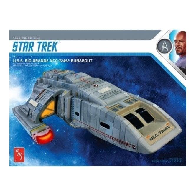 AMT 1:72 Star Trek Deep Space Nine U.S.S. Rio Grande NCC-72452 Runabout Model Kit