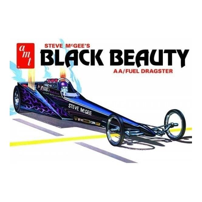 AMT 1:25 Steve McGee Black Beauty Wedge Dragster Car Model Kit