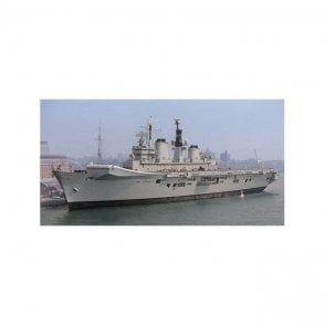 Forces of Valor 1:700 Royal Navy Invincible Class Aircraft Carrier - HMS Illustrious (R06), Operation Ocean Wave, 1997