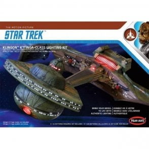 Polar Lights 1:350 Lighting Kit for Klingon K't'inga Class Battle Cruiser I.K.S Amar Star Trek