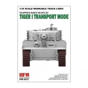 Rye Field Model 1:35 Workable Track Links for Tiger I Transport Military Model Kit