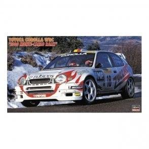 Hasegawa 1:24 Toyota Corolla WRC '2000 Monte Carlo Rally' Rally Car Model Kit
