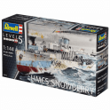 Revell 1:144 Flower Class Corvette HMCS Snowberry Model Ship Kit
