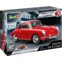 Revell 1:16 Porsche 356 Cabriolet ' Easy Click ' Car Model Kit