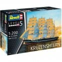 Revell 1:200 Russian Barque ' Kruzenshtern ' Model Ship Kit