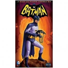 Moebius Models Classic TV Series Adam West Batman Figure - 1:8 Scale Figure Kit