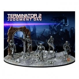 Pegasus 1:32 Terminator 2 Judgment Day - T-800 Endoskeletons Diorama Set Model Kit