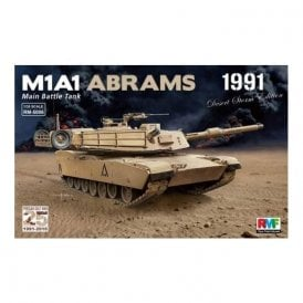 Rye Field Model M1A1 Abrams 25th Anniversary Gulf War - 1:35 Scale Kit