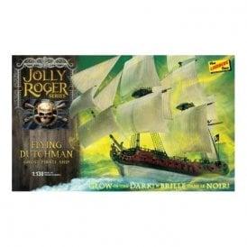 Lindberg Jolly Roger Series: The Flying Dutchman - 1:130 Scale Ship Kit