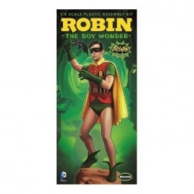 Moebius Models Batman Classic TV Series Robin Figure - 1:8 Scale Figure Kit