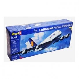 Revell 1:144 Airbus A380-800 Lufthansa Aircraft Kit
