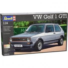 Revell 1:24 VW Golf Mk.I GTI Model Car Kit