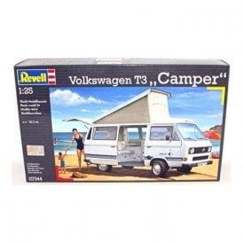 Revell 1:25 Volkswagen T3 ' Camper ' Model Car Kit