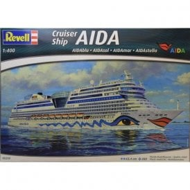 Revell 1:400 Cruiser Ship AIDA (blu, sol, mar, stella) Model Ship Kit