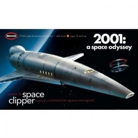 Moebius Models Space Clipper Orion from 2001: A Space Odyssey - 1:144 Scale Model Kit