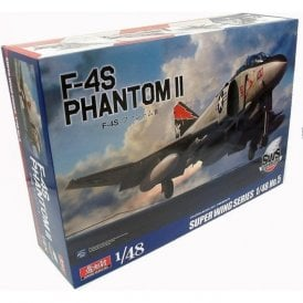 Zoukeimura Super Wing Series McDonnell Douglas F-4S Phantom II - 1:48 Scale Aviation Kit