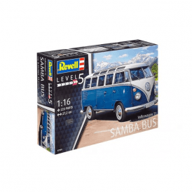 Revell 1:16 Volkswagen T1 Samba Bus Model Car Kit