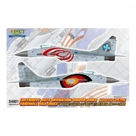 Great Wall Hobby 1:48 MiG-29 JG73 Operation Sniper 2003 ' Farewll USA 2003 ' Aircraft Model Kit