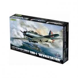 Great Wall Hobby 1:48 Douglas TBD-1 Devastator VT-6 1942 Aircraft Model Kit