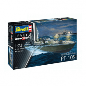Revell 1:72 Patrol Torpedo Boat PT109 Model Ship Kit