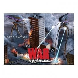 Pegasus 1:350 War of the Worlds Movie Alien Tripods Attack Diorama Model Kit