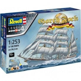 Revell 1:253 Gift Set Gorch Fock 60th Anniversary Edition Model Ship Kit