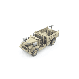 Precision Model Art 1:72 British LRDG Patrol Car, Camouflage Sand