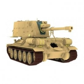 Rye Field Model 1:35 T-34/122 Egyptian Tank Military Model Kit