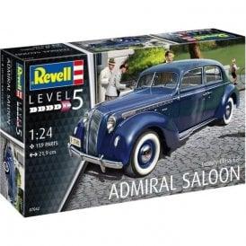Revell 1:24 Luxury Class Car Admiral Saloon Car Model Kit