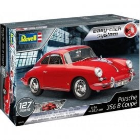 Revell 1:16 Porsche 356 Cabriolet ' Easy Click ' Car Model Kit