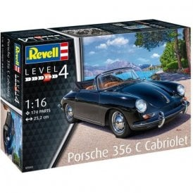 Revell 1:16 Porsche 356 Cabriolet Car Model Kit