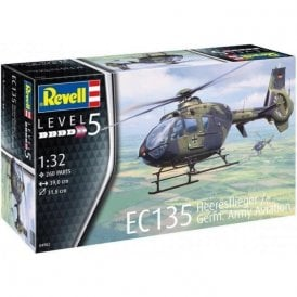 Revell 1:32 EC135 Heeresflieger German Army Aviation Aircraft Model Kit