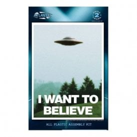Atlantis Models I Want to Believe Photo 494 UFO Model Kit