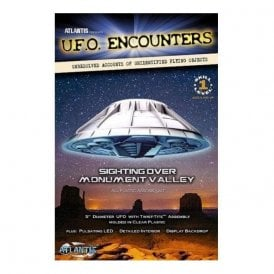 Atlantis Models Monument Valley Lighted UFO Model Kit