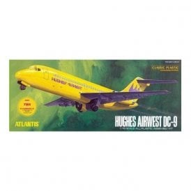 Atlantis Models 1:72 Hughes Airwest DC-9 Airliner Aircraft Model Kit