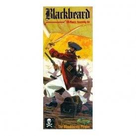 Atlantis Models 1:10 Blackbeard the Pirate Figure Kit