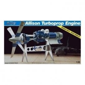 Atlantis Models 1:10 Allison Turbo Prop Engine Model Kit