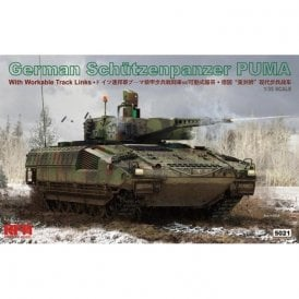 Rye Field Model 1:35 German Schutzenpanzer Puma Military Model Kit