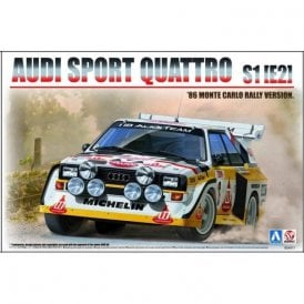 Beemax 1:24 Audi Sport Quattro S1(E2) 86' Monte Carlo Rally Ver. Model Kit