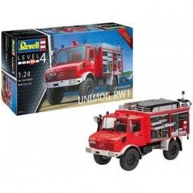 Revell 1:24 Schlingmann Unimog RW1 Truck Model Kit