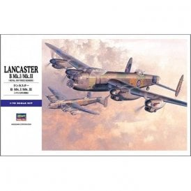 Hasegawa 1:72 Avro Lancaster B. MK.I/MK.III Aircraft Model Kit