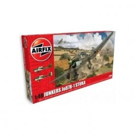 Airfix 1:48 Junkers Ju87B-1 Stuka with additional scheme Aircraft Model Kit