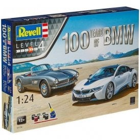 Revell 1:24 100 Years of BMW Gift Set Car Model Kit